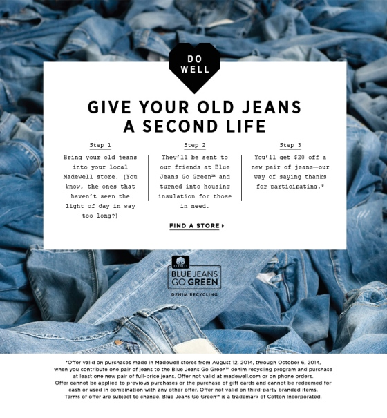 Donate Your Denim